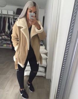 ahz568-l-610x610-coat-zara+jacket-zara+coat+leather+sleeves-nude+color-instagram-jacket-beige+jacket-fur+coat-aviator+jacket-faux+fur-tumblr-tumblr+outfit-shearling+jacket-wool+coat-wool