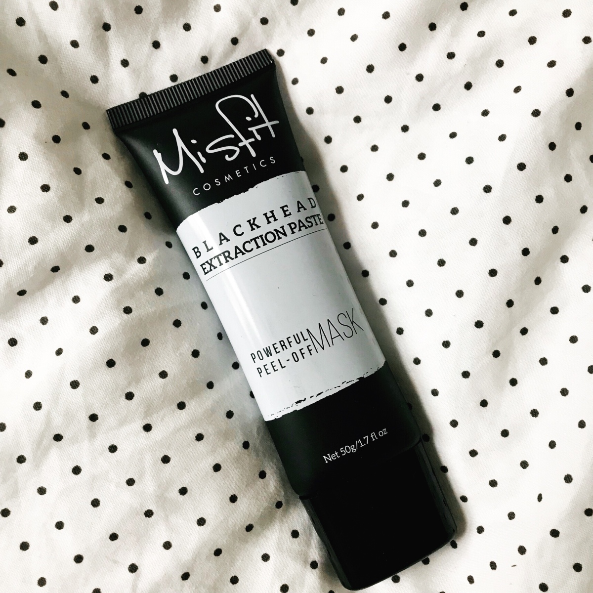 Misfit Cosmetics Black Head Extraction Paste