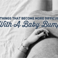 6 Things That Become More Difficult With A Baby Bump