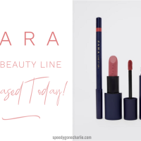 Zara New Beauty Line