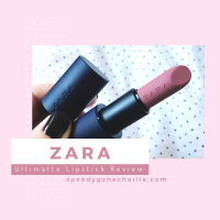 Zara Ultimatte Lipstick Review