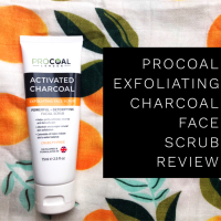 Procoal Charcoal Face Scrub Review
