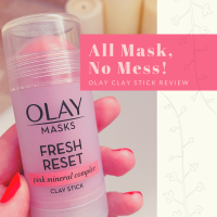 All Mask, No Mess! | Olay Clay Stick Review