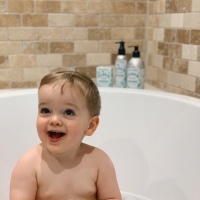 Ollie & Mummy Go Au Naturel | A Beauty Kitchen Review